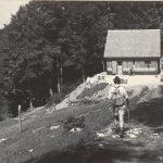 Planinska koča pri Gospodični, circa 1949