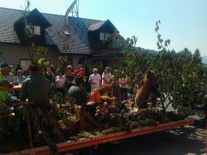 Velike Brusnice, praznik češenj 2012