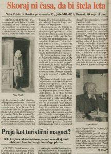 Velike Brusnice 1995